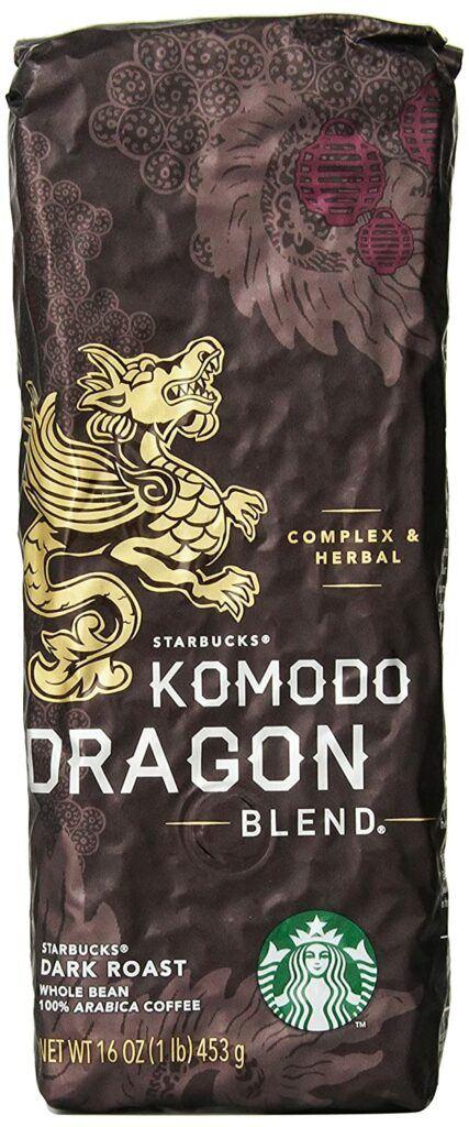Starbucks Komodo Dragon Blend