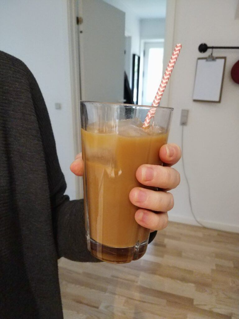 Amazing iced coffee
