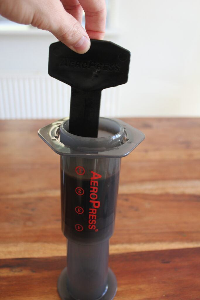 Step by step guide for AeroPress