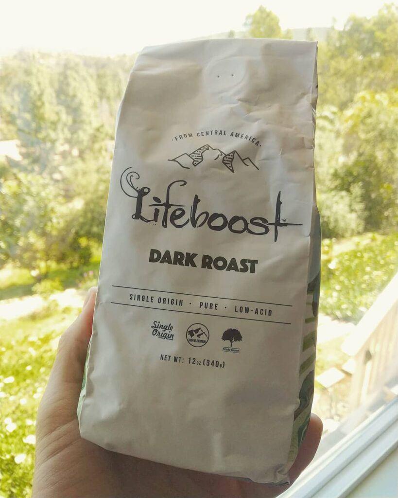 Lifeboost, low acid coffee