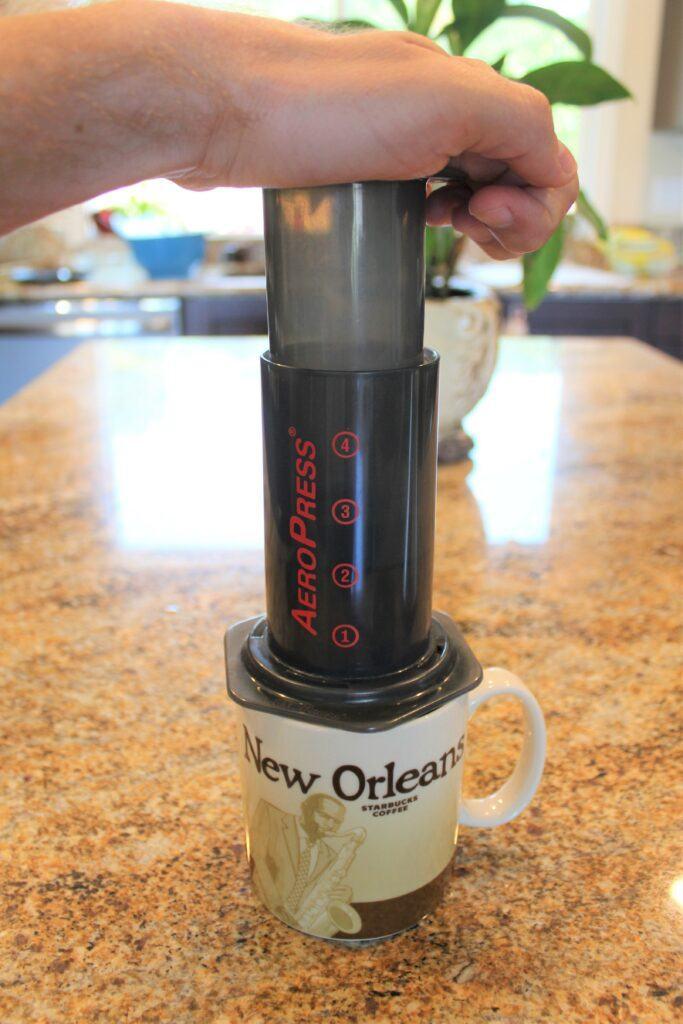Aeropress makes delicious coffee