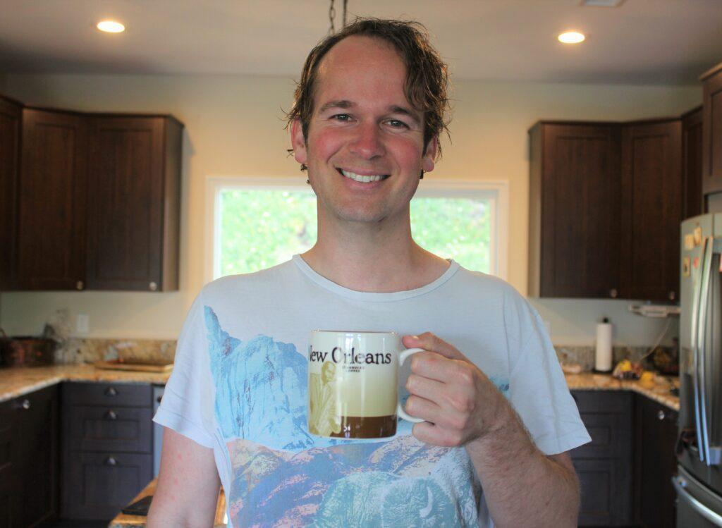 Using AeroPress for my home brewed coffee