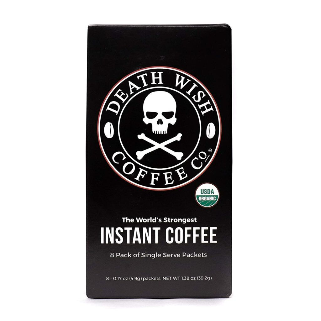 Death Wish Instant Coffee