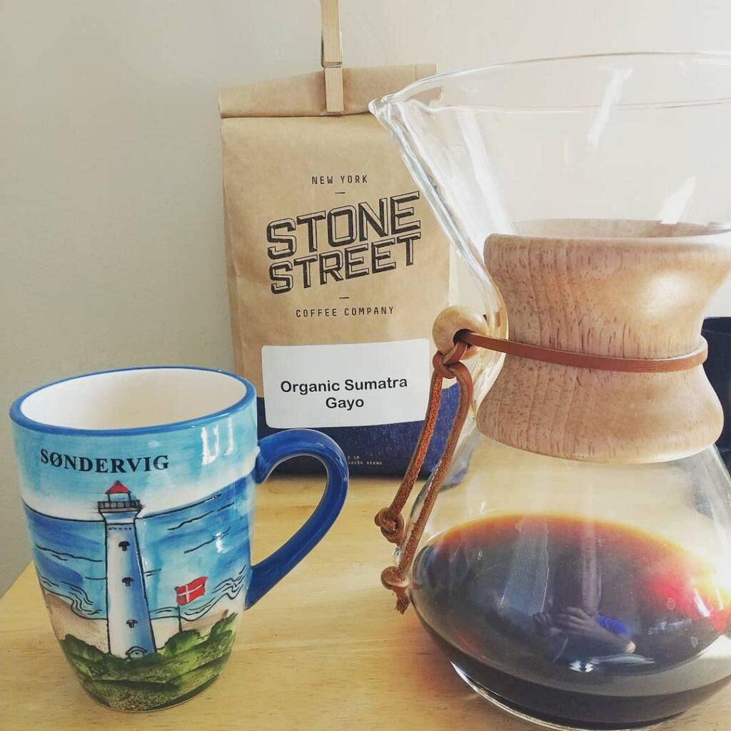 Chemex and Stone Street Coffee