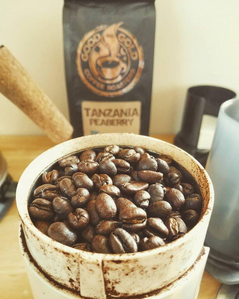 Tanzania Peaberry coffee beans