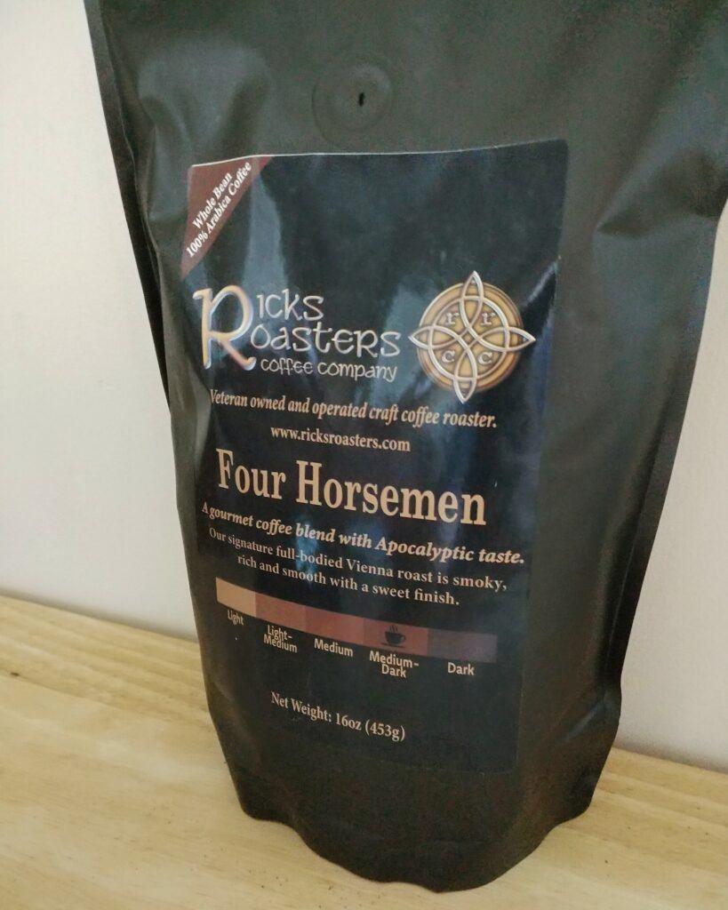 Ricks Roasters coffee