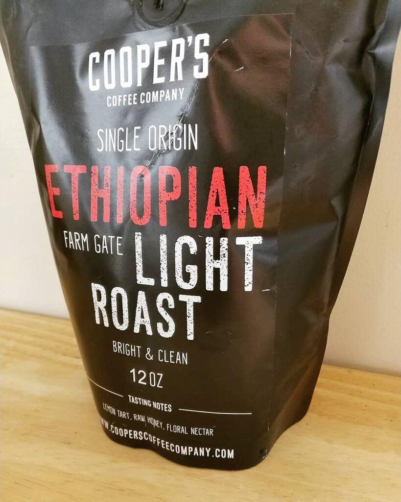 Cooper's Coffee Company Ethiopian Light Roast Review