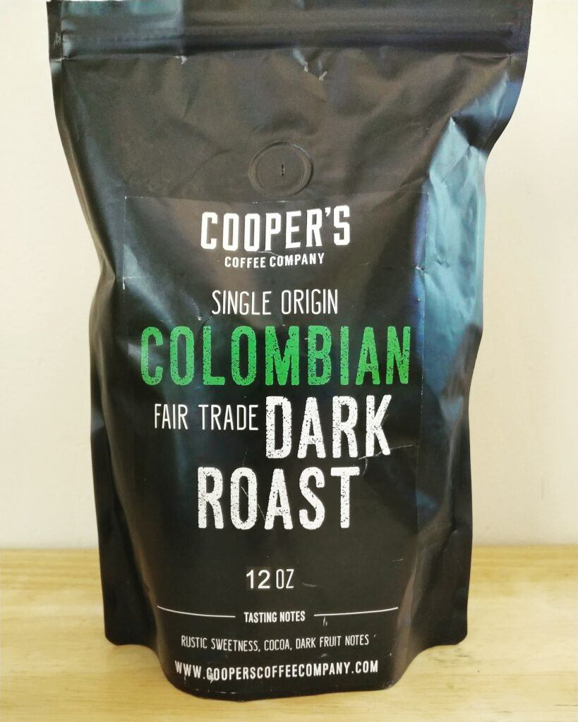 Cooper's Coffee Company Colombian Dark Roast Review