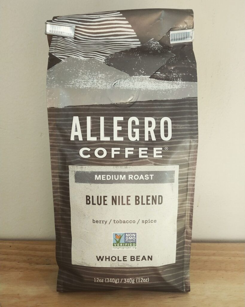 Allegro Coffee Blue Nile Blend Review