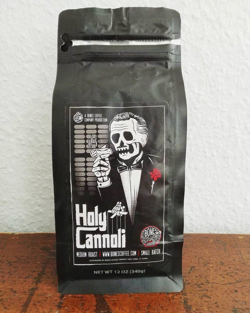 Bones Coffee Company Holy Cannoli Review