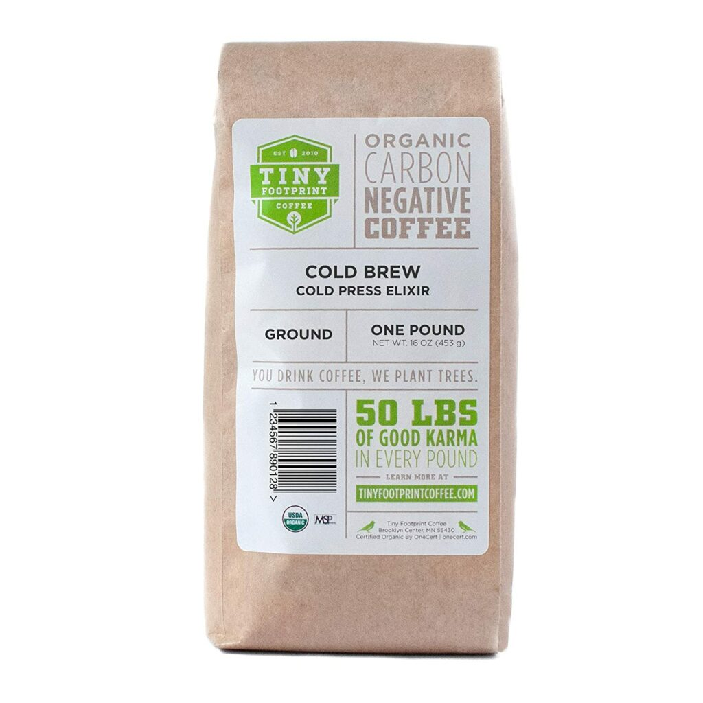 Tiny Footprint Organic Cold Brew Elixir
